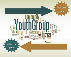 Jr. High Youth Group Grades 4 - 7